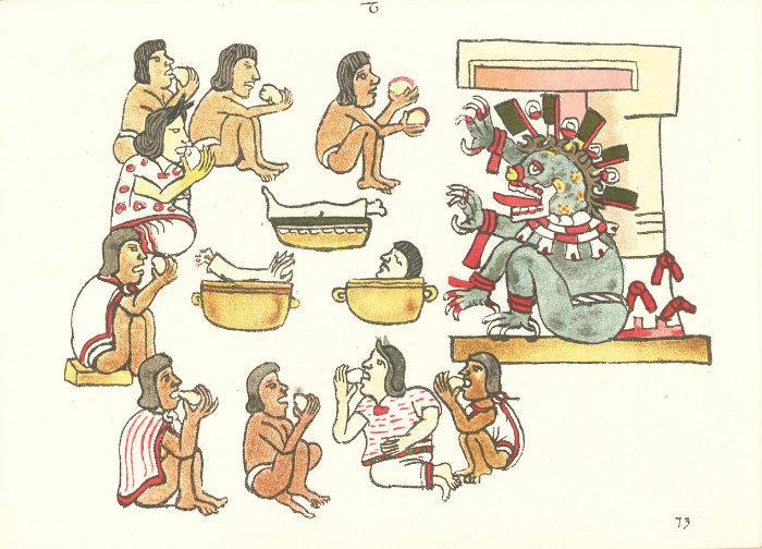 sacrificios humanos, aztecas, tradiciones aztecas, religión, conquista, mesoamérica, codices