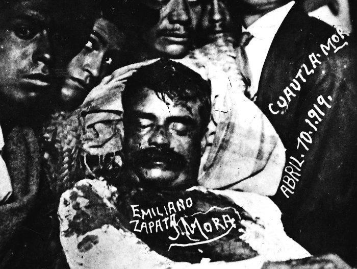 emiliano zapata, revolución, zapata, vida de emiliano zapata, caudillos, revolucion mexicana, cadaver emiliano zapata, cuerpo emiliano zapata