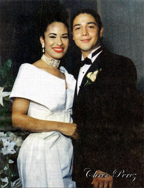Chris Pérez, amor prohibido, Selena, boda, pareja,reina del tex-mex, música, Selena y Los Dinos, matrimonio,
