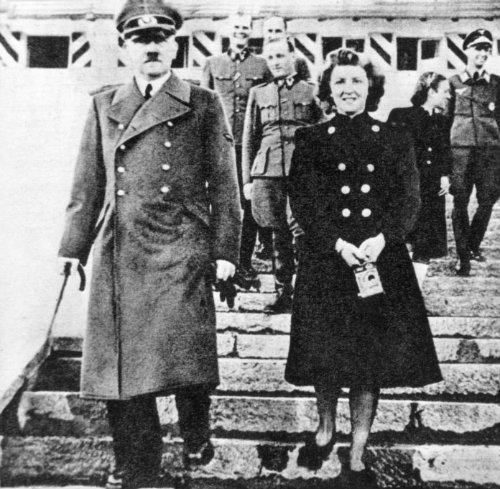 Adolf Hitler, Eva Braun, pareja, historia de amor, muerte, búnker, líder alemán, nazismo,