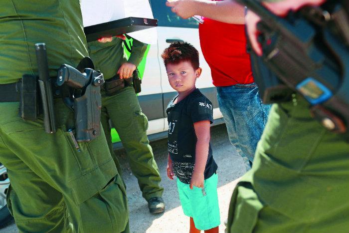 campos de concentración, migrantes, niños, Donald Trump, Estados Unidos, deportación, patrulla fronteriza