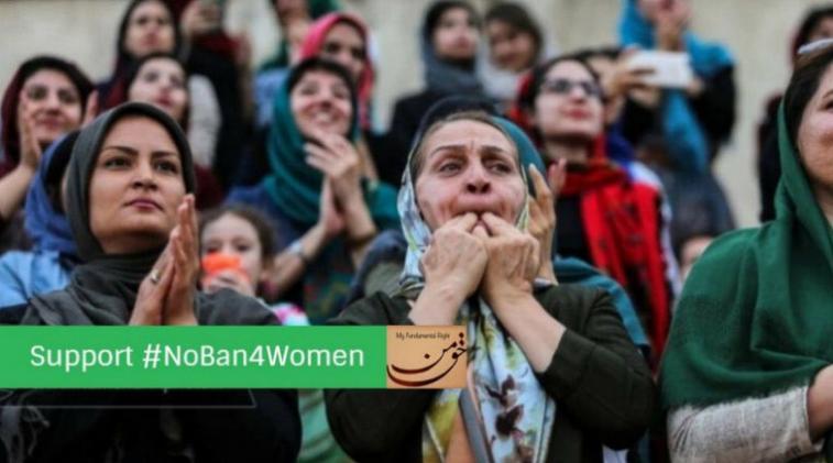 Las mujeres iraníes conquistan el fútbol
