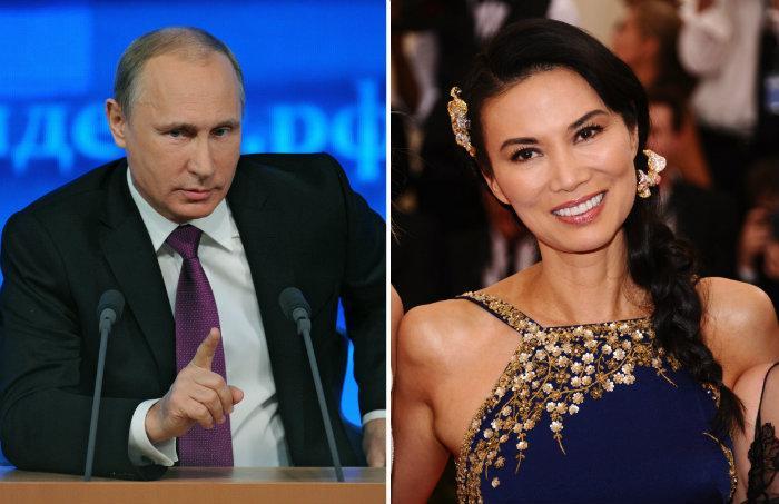 ExLa Amante Y De Vladimir PlayboyDe10 Su Putin Conejita Entre SqUMVLzpG