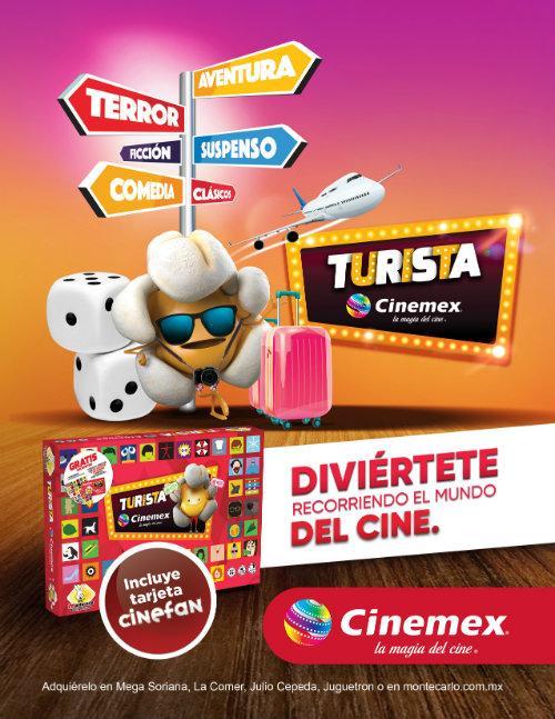 Turista Cinemex El Clasico Juego De Mesa Pero Esta Vez Con Lo Mejor