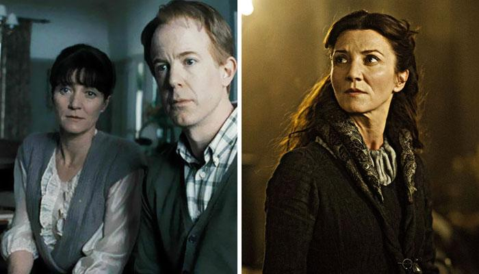 Michelle Fairley, Catelyn Stark y Sra. Granger,