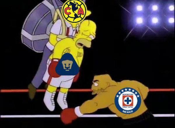 memes de la vergonzosa derrota del Cruz Azul
